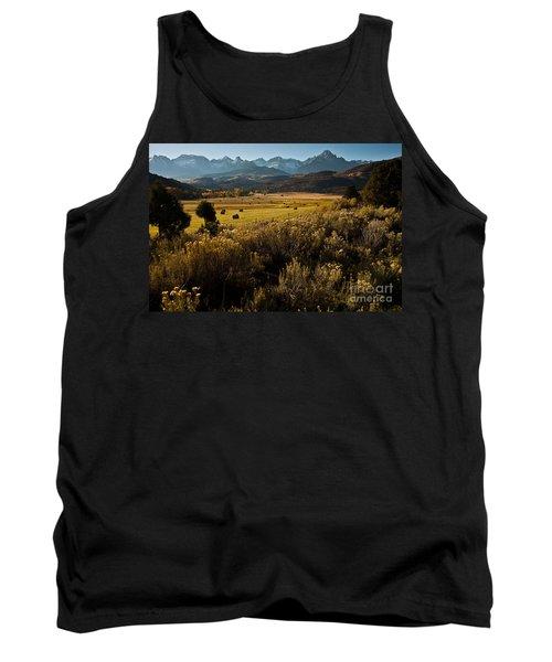 Overlook To Mt. Sneffles Tank Top