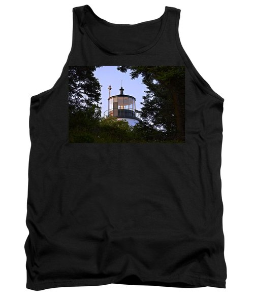 Owl's Head In The Trees Tank Top