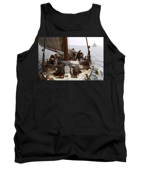 Oyster Dredge Boat Tank Top