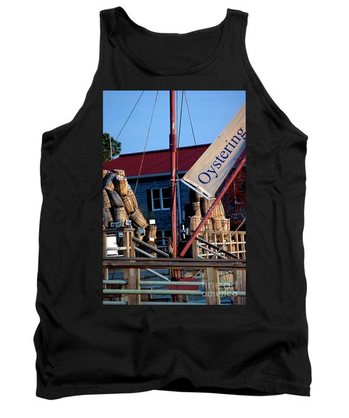 Oystering History At The Maritime Museum In Saint Michaels Maryland Tank Top