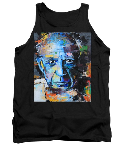Pablo Picasso Tank Top by Richard Day
