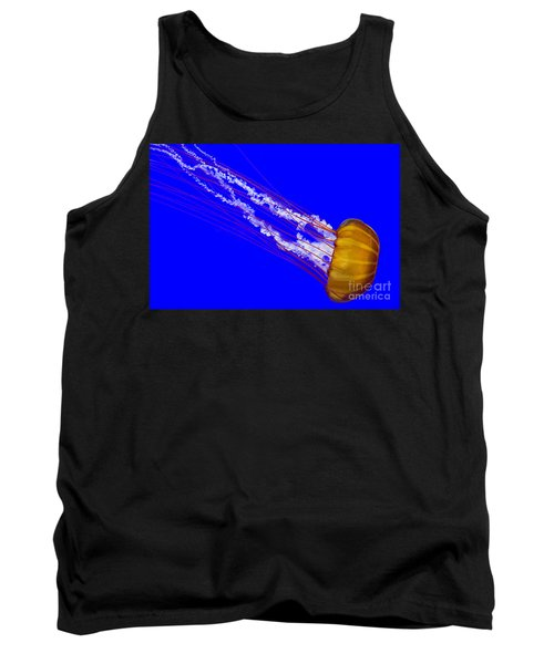 Tank Top featuring the photograph Pacific Sea Nettle by Nick  Boren