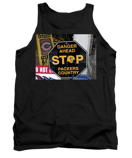 Packers Country Tank Top by Kay Novy