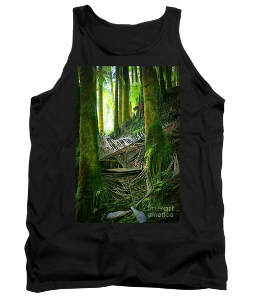 Tank Top featuring the photograph Palm Forest by Ellen Cotton