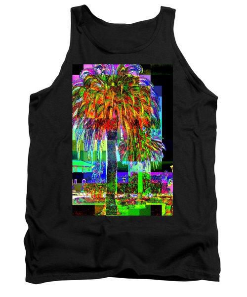 Palm Tree Tank Top