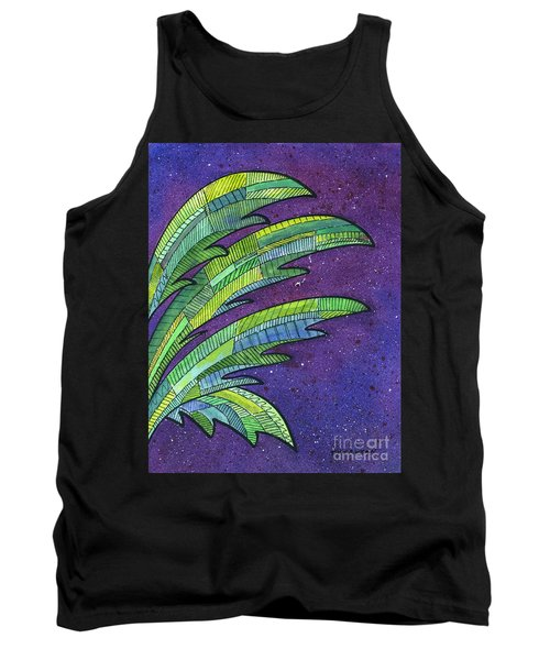 Palms Against The Night Sky Tank Top