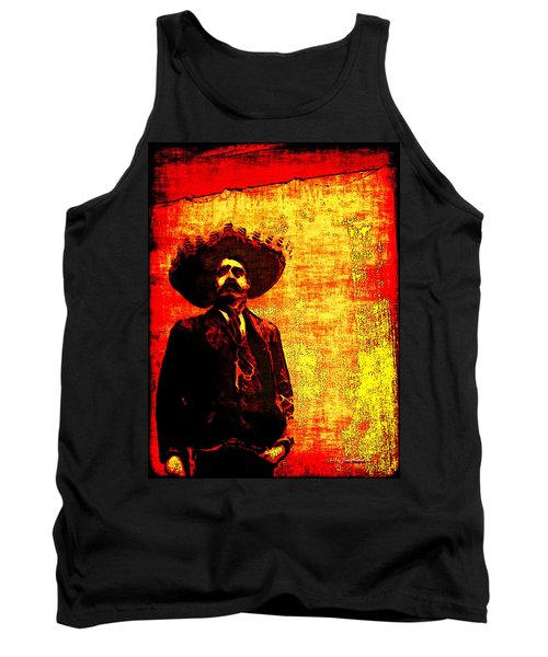 Pancho Villa Tank Top by Joan  Minchak