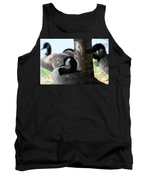 Tank Top featuring the photograph Pap Daddy Big Spring Park by Lesa Fine