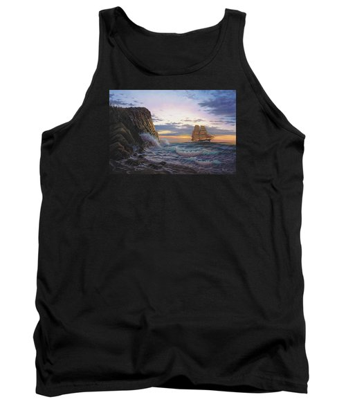 Paradise Cove And The Lightning  Tank Top