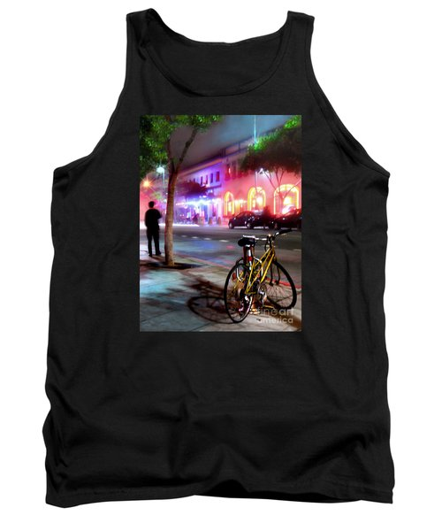 Tank Top featuring the photograph Paris In Santa Monica by Jennie Breeze