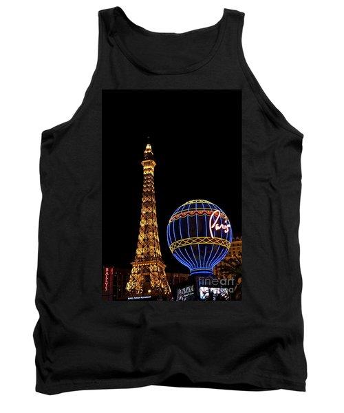Paris In Vegas Tank Top