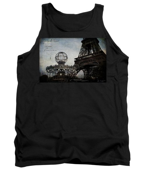 Paris One More Ride Tank Top