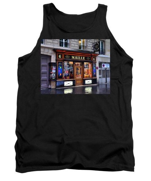 Paris Shop Tank Top
