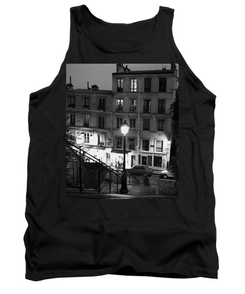 Paris-steps-montmartre Tank Top