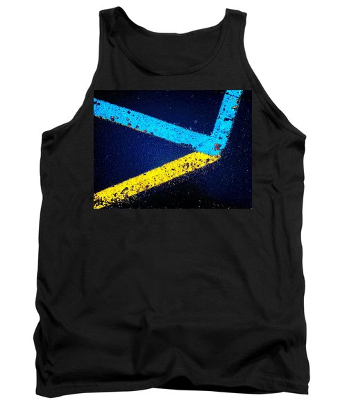 Tank Top featuring the photograph Parking Lot by Daniel Thompson