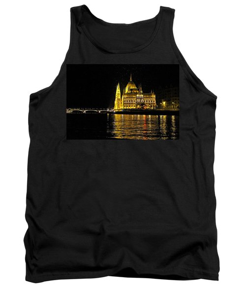 Parliament At Night Tank Top