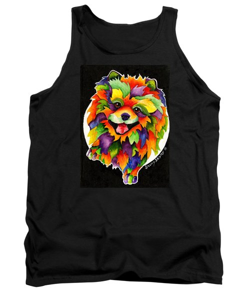 Party Pom Tank Top
