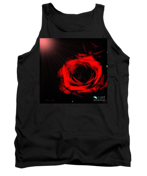 Passion. Red Rose Tank Top