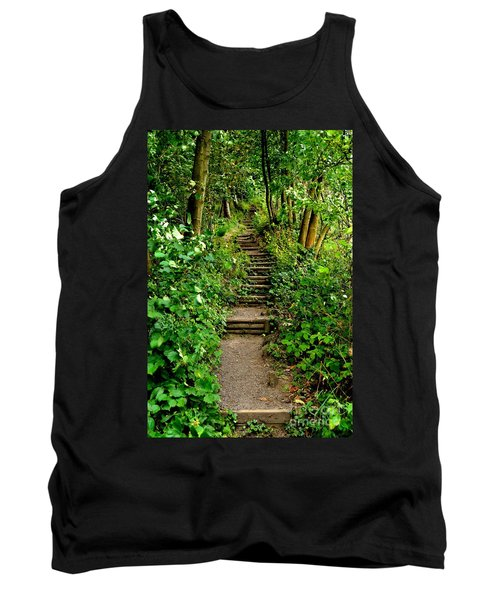 Path Into The Forest Tank Top