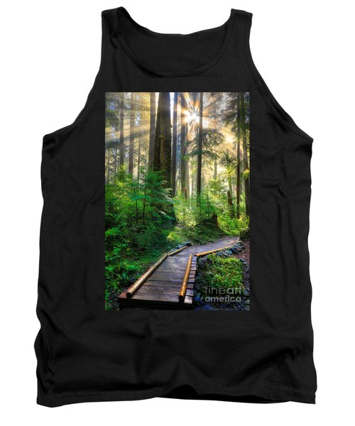 Pathway Into The Light Tank Top