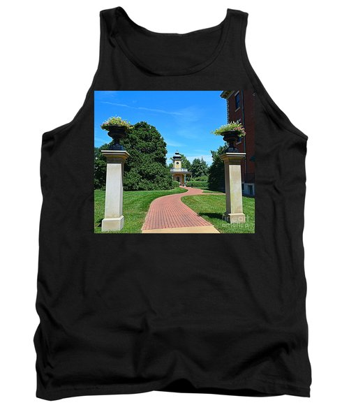 Pathway To The Observatory Tank Top by Luther Fine Art