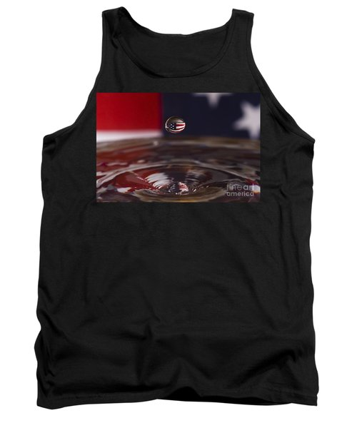 America Tank Top by Anthony Sacco