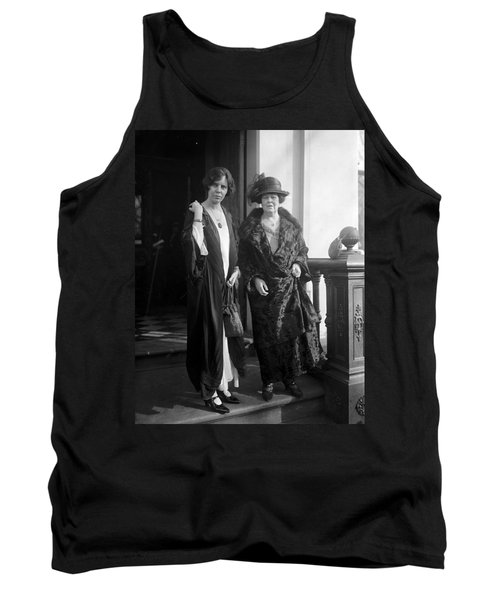 Tank Top featuring the photograph Paul & Belmont, 1923 by Granger