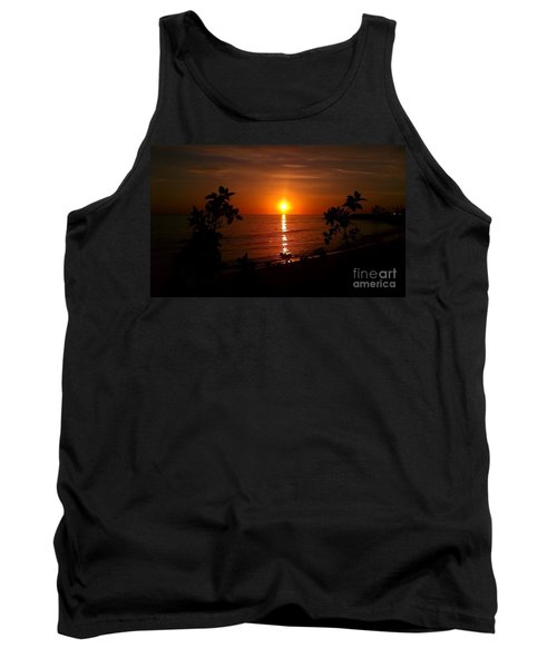 Peace At The Beach Tank Top by Chris Tarpening