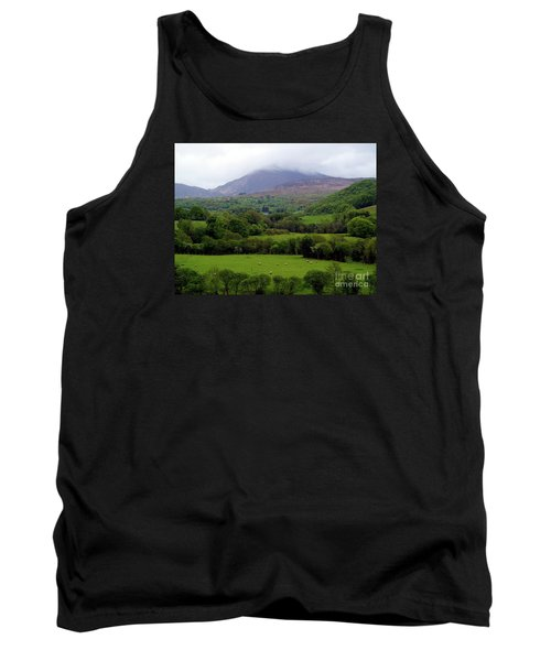 Peace On The Emerald Isle Tank Top by Patricia Griffin Brett
