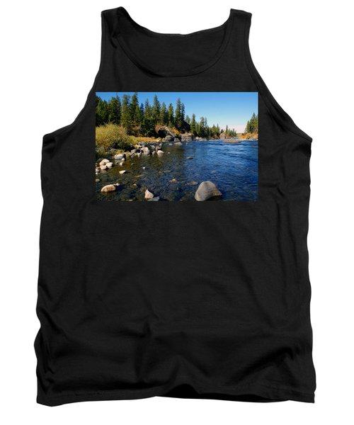 Peace On The Spokane River 2 Tank Top