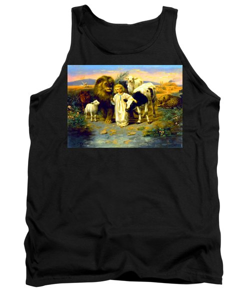 Peace Tank Top by William Strutt