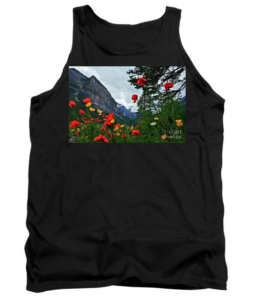 Peaks And Poppies Tank Top