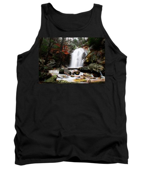 Peavine Falls In Autumn Tank Top by Shelby  Young