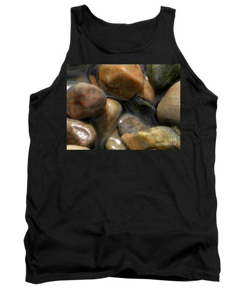 Pebbles In Water Tank Top