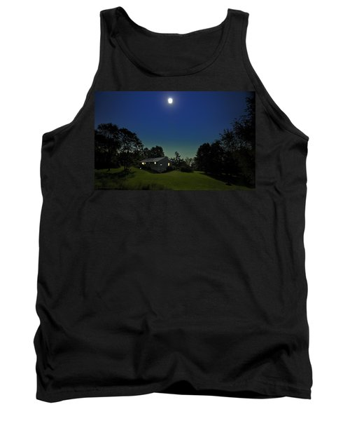 Tank Top featuring the photograph Pegasus And Moon by Greg Reed