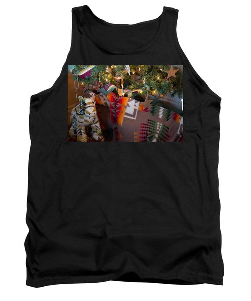 Pendleton Christmas Tank Top by Patricia Babbitt