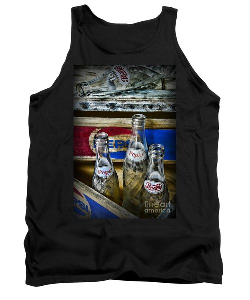 Pepsi Bottles And Crates Tank Top