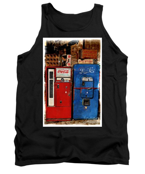 Pepsi Tank Top by Mary Machare