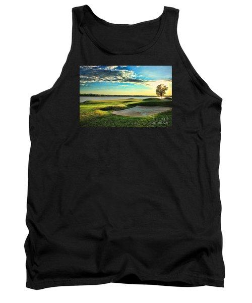 Perfect Golf Sunset Tank Top