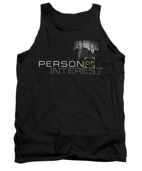 Person Of Interest - Logo Tank Top