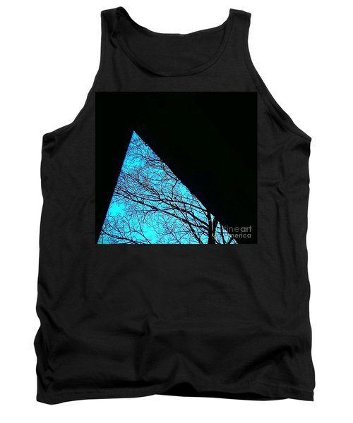 Blue Triangle Tank Top