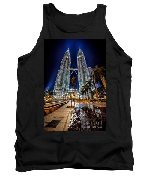 Petronas Twin Towers Tank Top