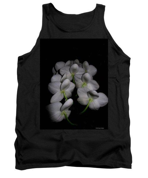 Phalaenopsis Backs Tank Top by Joyce Dickens