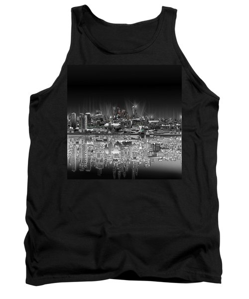 Philadelphia Skyline  Gradient Tank Top