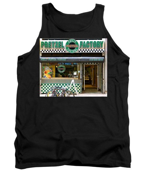 Philly Pretzel Factory Tank Top by Ira Shander