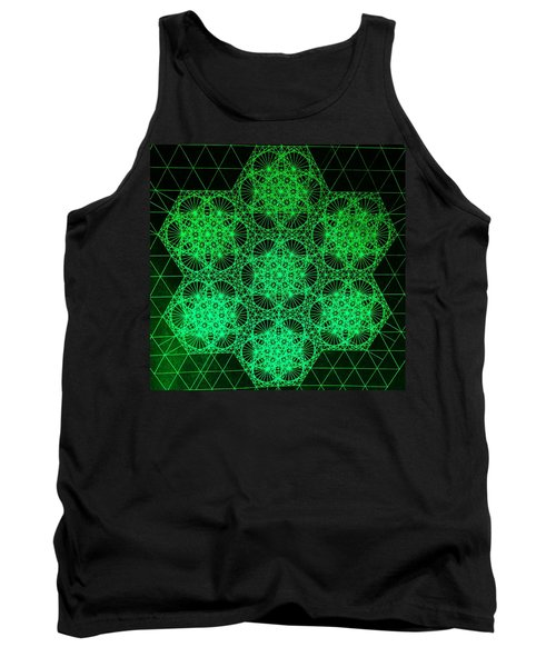 Photon Interference Fractal Tank Top