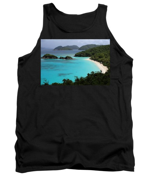 Piece Of Paradise Tank Top by Fiona Kennard