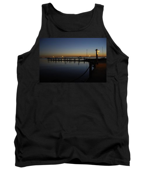 Pier At Chandlers Landing Rockwall Tx Tank Top