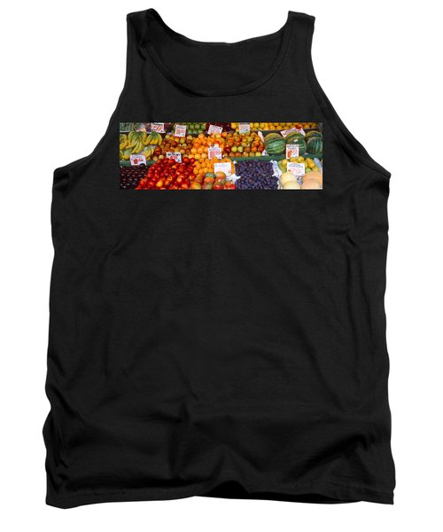 Pike Place Market Seattle Wa Usa Tank Top by Panoramic Images