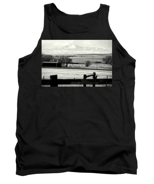 Tank Top featuring the photograph Pikes Peak From Ramah by Clarice  Lakota